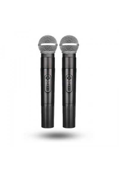 Roof R-220 Çift El Telsiz Mikrofon