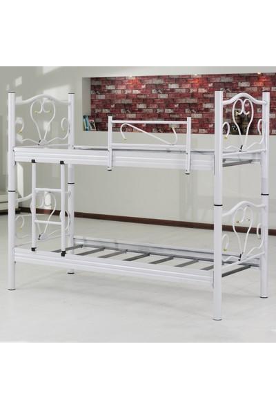 Hepsiburada Home Beyaz Ranza 90x190 cm