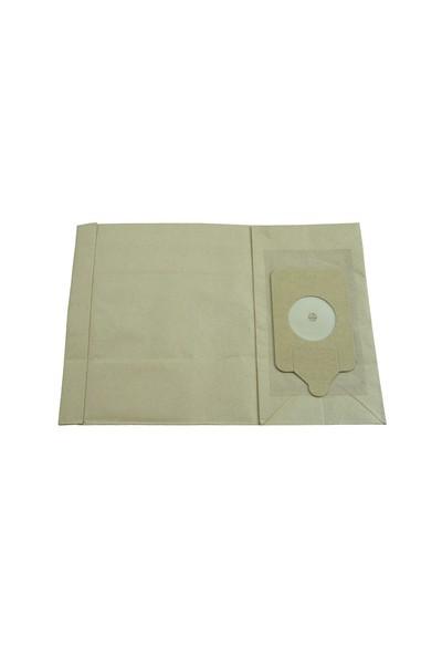 Numatic Süpürgelere Uygun Kağıt Süpürge Torbası 10 Adet