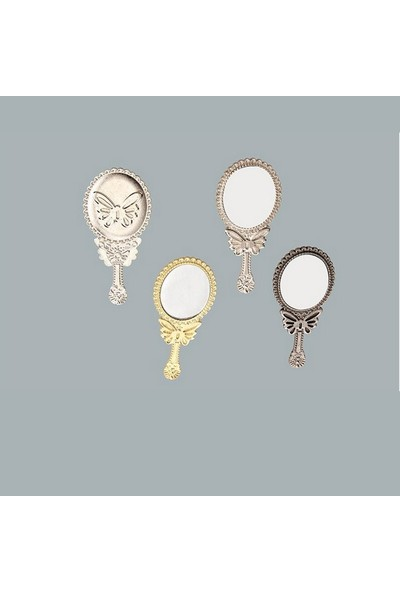 Tahtakale Toptancısı Ayna Kelebekli Metal Bakır (10 Adet)