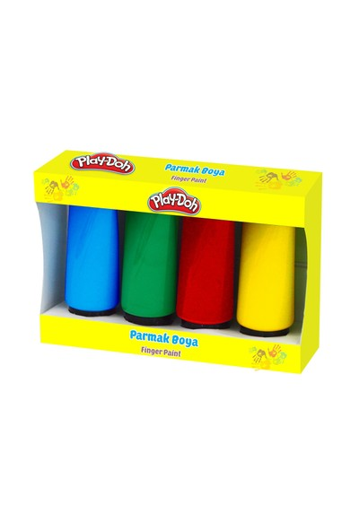 Play-Doh Parmak Boya 4X75 Ml PLAY-PR034