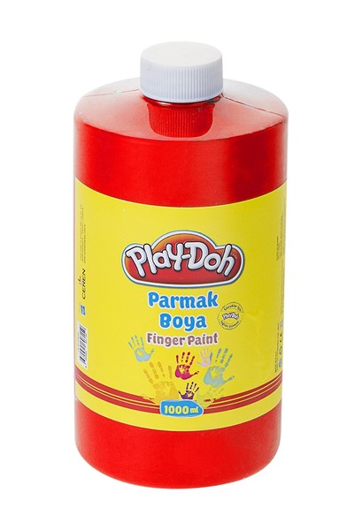 Play-Doh Parmak Boya 1 Lt Kırmızı PLAY-PR021