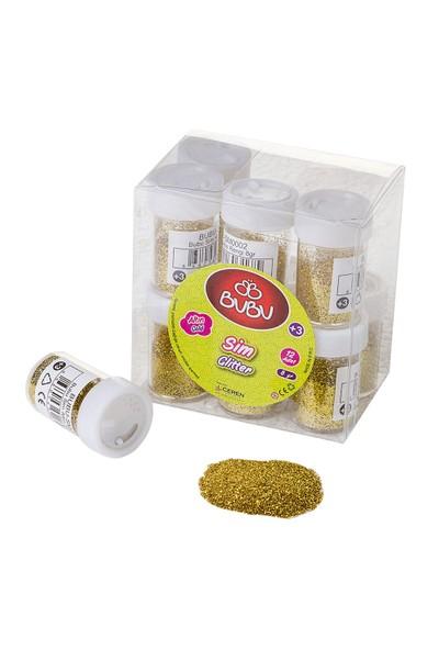Bubu Sim Altın Rengi 8Gr 12'Li Pvc BUBU-SM0002