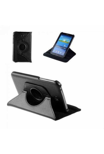 İdealTrend Samsung Galaxy Tab S2 T710 360 Dönebilen Stand Kılıf