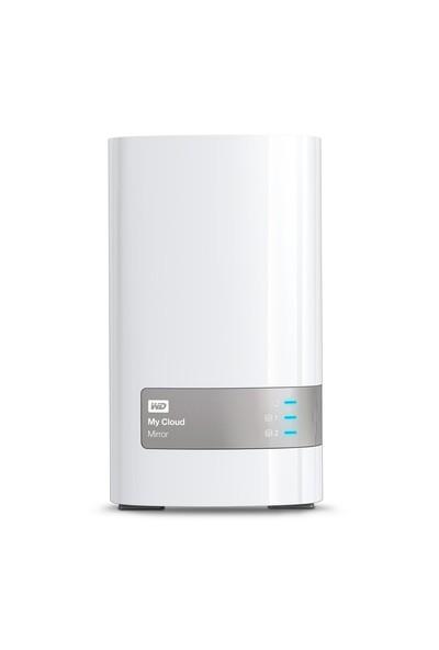 WD My Cloud Mirror 12 TB Gigabit Ethernet Kişisel Bulut Depolama WDBWVZ0120JWT-EESN