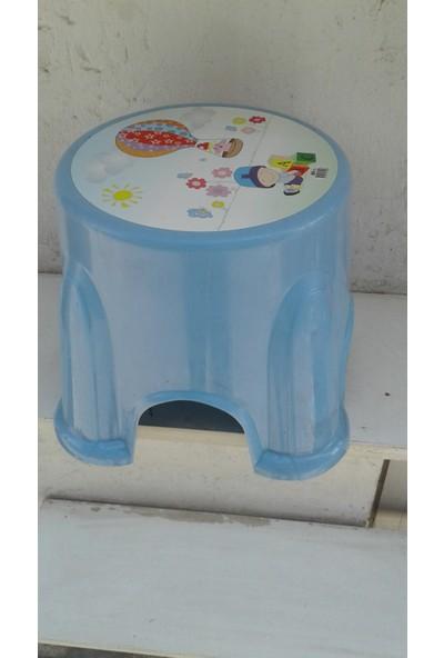 Elif Plastik Plastik Çocuk Taburesi Mavi
