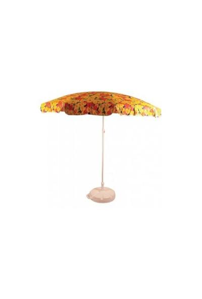 Arslan Plastik Plaj Şemsiyesi Bahçe Şemsiyesi 2 Metre