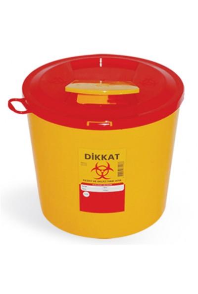 Hp Tıbbi Atık Çöp Kovası 10 Lt