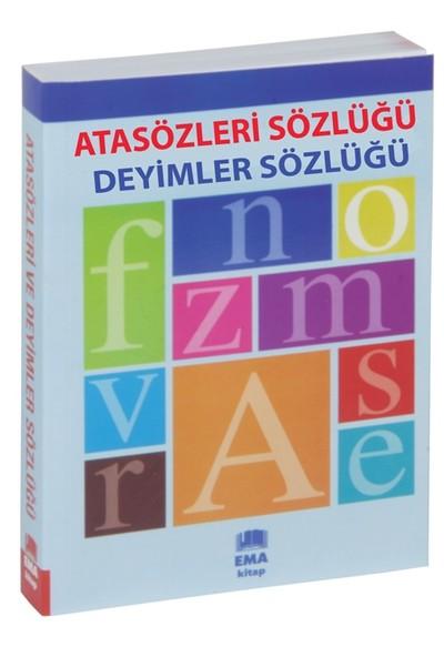 Atasözleri Sözlüğü Ve Deyimler Sözlüğü (İki Kitap Bir Arada) - Sebahattin Özafşar