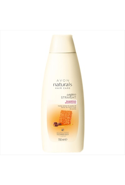 Avon Naturals Hair Care Super Straight Bal Özü ve Jojoba Yağı İçeren Şampuan - 700ml