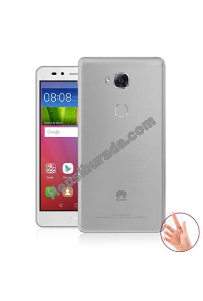 Teknomeg Huawei Gr5 Şeffaf Silikon Kılıf