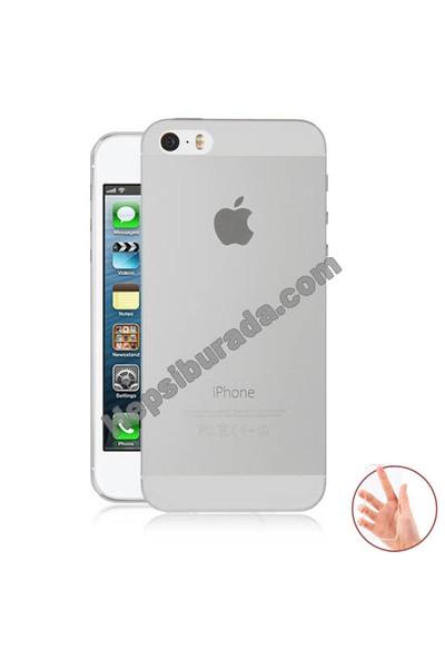 Teknomeg Apple İphone 5 Şeffaf Silikon Kılıf
