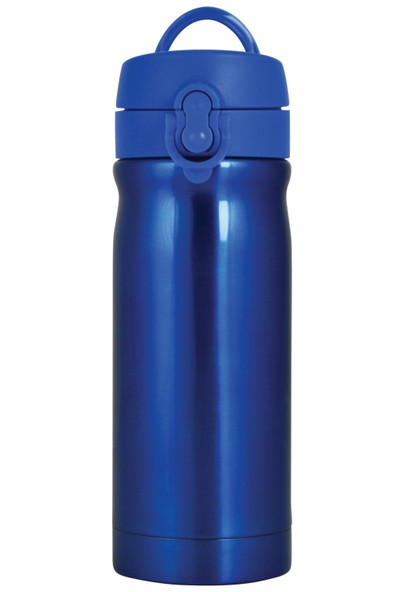 Çelik İçli Matara 350ml Neon Mavi