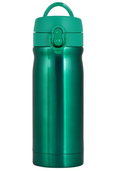 Çelik İçli Matara 350 Ml Neon Yeşil