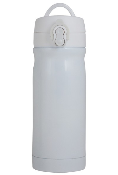 Çelik İçli Matara 350ml Beyaz