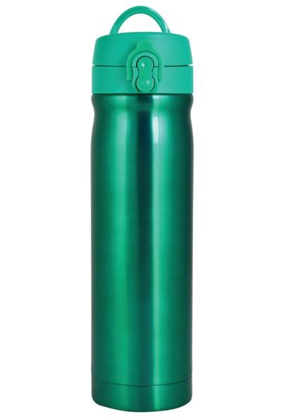 Çelik İçli Matara 500ml Neon Yeşil