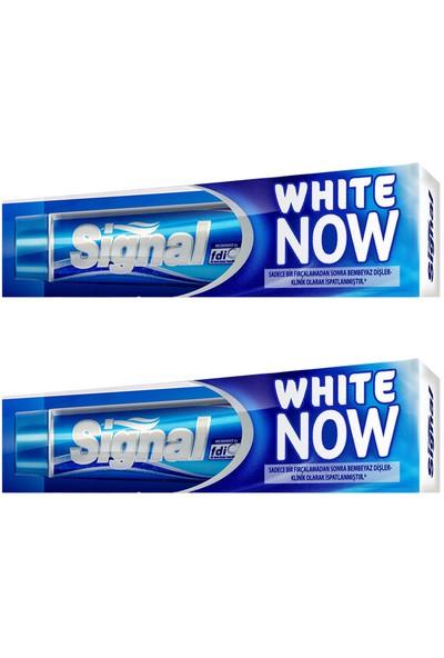 Signal White Now Diş Macunu 75 ml x 2 Adet