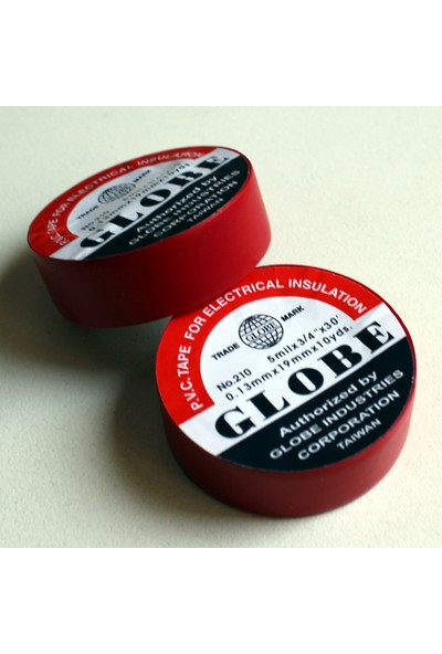 Globe Orjinal Kırmızı 19mm İzole Bant 6060020