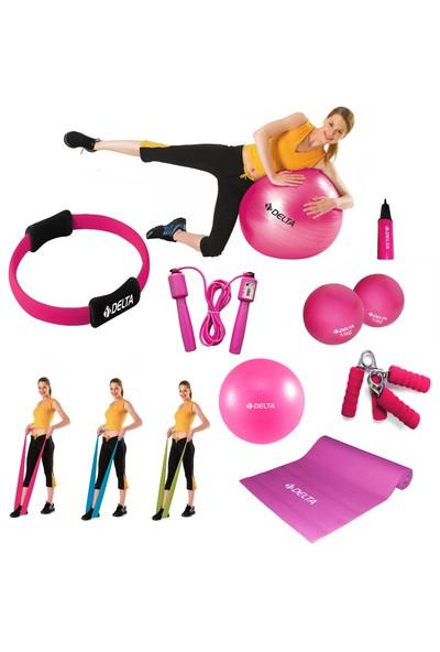 Tristar Fuşya Power Pilates Seti