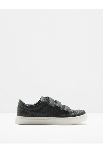 Ole Kadın Bağcıksız Spor Ayakkabı Siyah