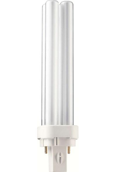 MASTER PL-C 18W/830/2P 1CT/5X10BOX 3000K Günışığı Enerji Tasarruflu Ampul