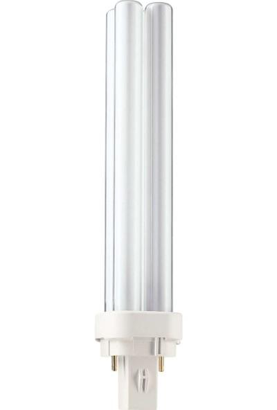 MASTER PL-C 26W/865/2P 1CT/5X10BOX 6500K Beyaz Enerji Tasarruflu Ampul