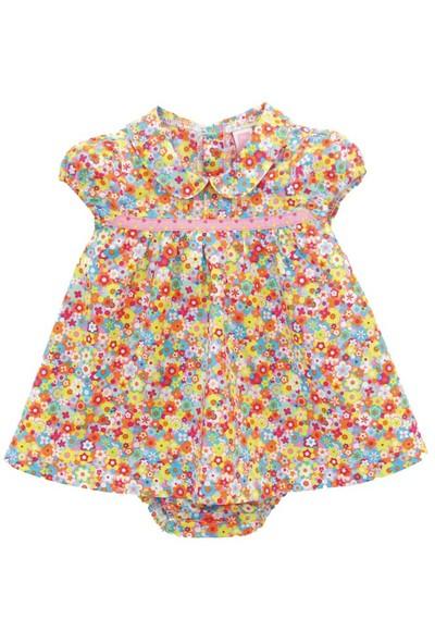 Tuc Tuc Çiçekli Elbise Külot Takım Mon Jardin