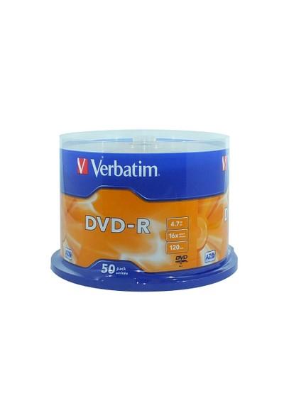 Verbatim 4.7 Gb 16X 50Li Cakebox Dvd-R