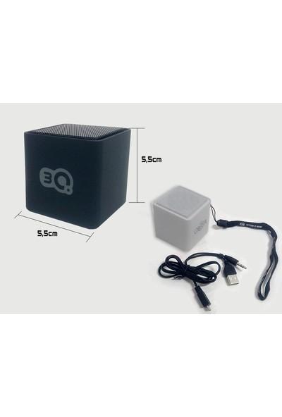 3Q Sp-102Bt Beyaz Mikro Sd Şarjlı Mini Bluetoth Speaker