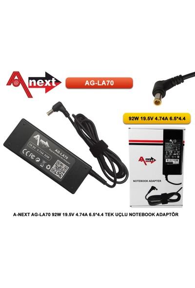 Techas Ag-La70 92W 19.5V 4.74A 6.5*4.4 Tek Uçlu Notebook Adaptör Sony