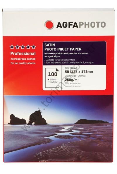 Agfa Photo İnkjet Kağıt 13x18Cm Satin(Mat)