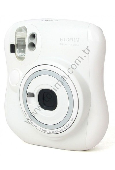 Fujifilm İnstax Mini 25 Fotoğraf Kamerası Beyaz