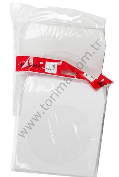 Torima cd zarfı 100'lü Paket 80 gr.