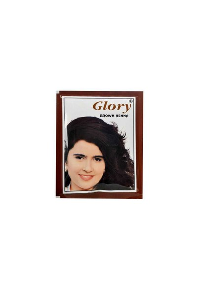 Glory Henna Kahverengi Hint Kınası