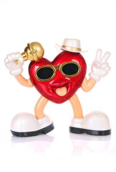 Kalp Model Müzik Kutusu