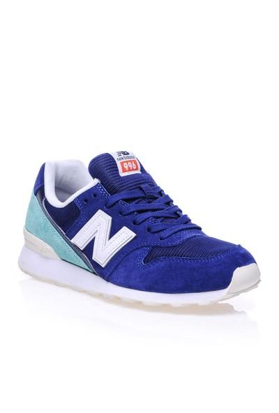 New Balance WR996 Mavi Kadın Günlük Ayakkabı