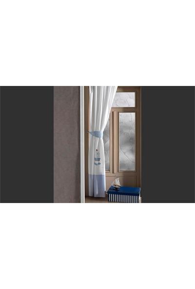 Kidboo Blue Marin Perde 150X220