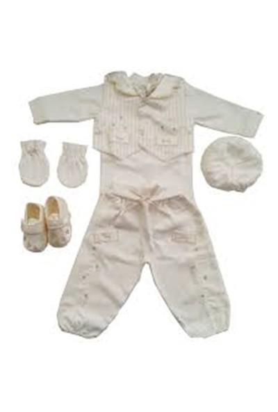 Fory Baby 1113 Simli Erkek 6'Lı Mevlüt Set
