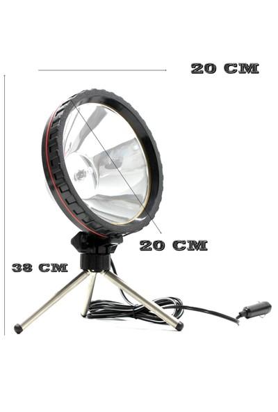 ModaCar 3 Ayaklı Araç Çakmağından Çalışan El Projektörü 370011