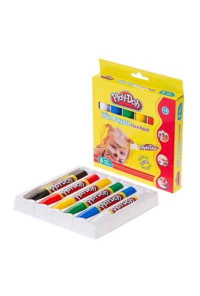 Play-Doh Yüz Boyası 6 Renk Karton Play-Yu003