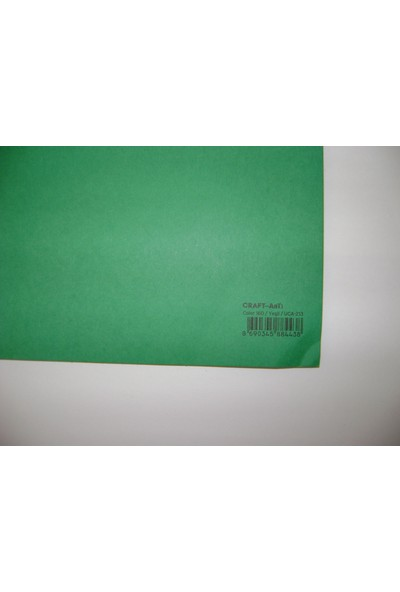 Umix Craft & Arts Fon Kartonu 160Gr 50*70Cm Yeşil