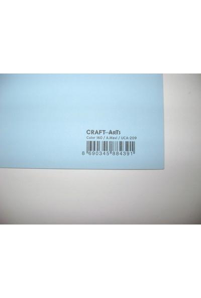 Umix Craft & Arts Fon Kartonu 160Gr 50*70Cm Açık Mavi