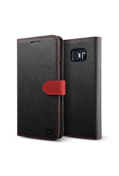LIFIC Samsung Galaxy Note 5 Saffiano Diary Kılıf Mint