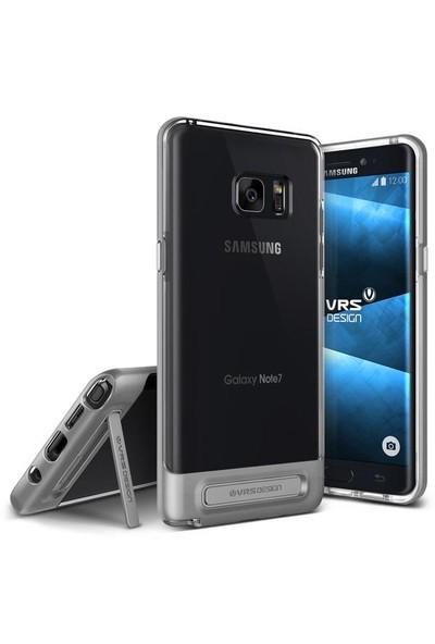 VRS Galaxy Note 7 / Note FE Crystal Bumper Kılıf Light Silver