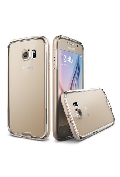 Verus Samsung Galaxy S6 Case Iron Bumper Kılıf Gold