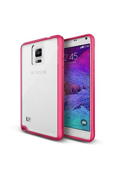 Verus Samsung Galaxy Note 4 Crystal Mixx Kılıf Hot Pink