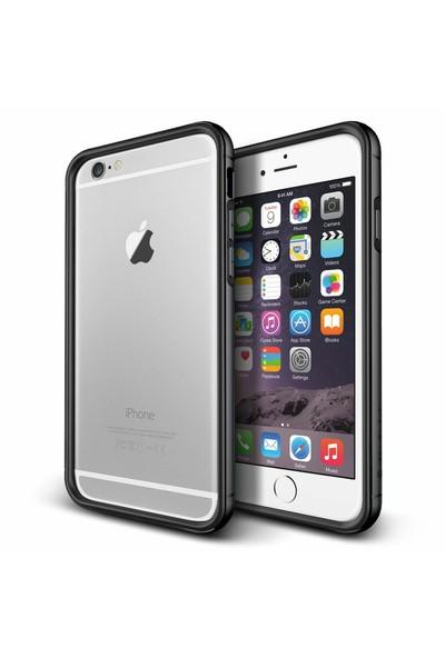 Verus Apple iPhone 6 Plus/6S Plus Iron Bumper Kılıf Black Titanium