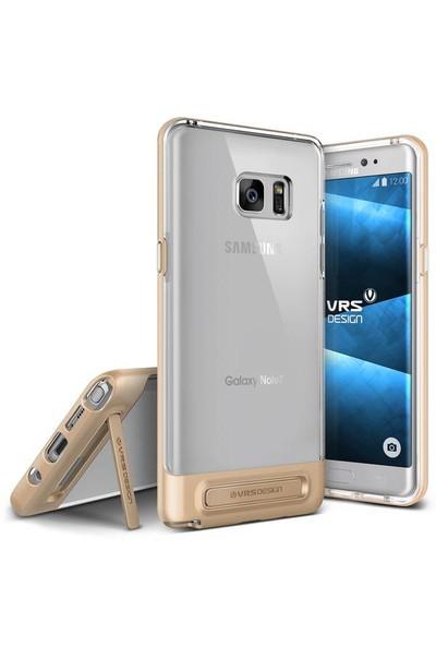 VRS Galaxy Note 7 / Note FE Crystal Bumper Kılıf Rose Gold