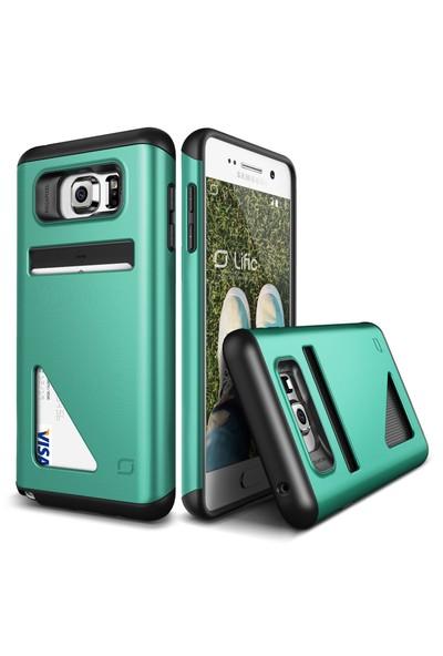 LIFIC Samsung Galaxy Note 5 Mighty Card Defense Kılıf Mint