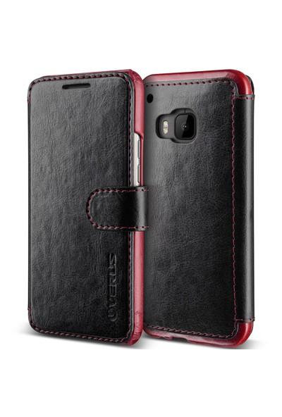 Verus HTC One M9 Case Dandy Layered Kılıf Black Wine
